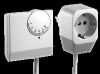 Raumthermostat mit Doppelstecker
