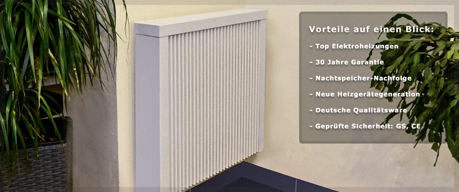 Die Vor- und Nachteile einer Elektroheizung